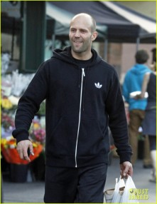 Semi-Exclusive... Jason Statham Shops At Bristol Farms